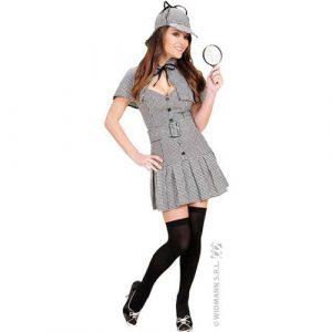 Costume miss détective