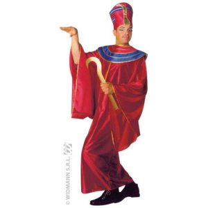 Costume Pharaon rouge et bleu