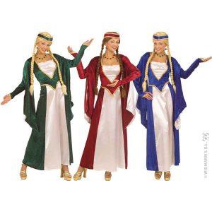 Costume renaissance velour et satin