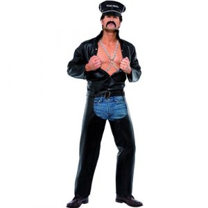 Costume Village People biker