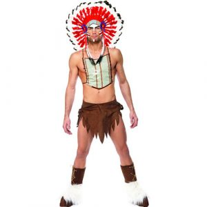 Costume Village People indien