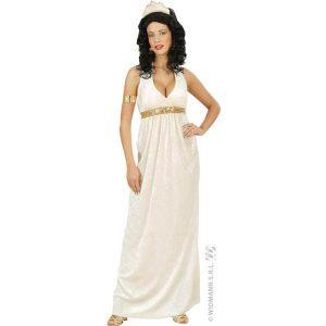 Déguisement déesse antique ivoire et paillettes