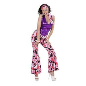 Déguisements vente femmes disco haut et pantalon