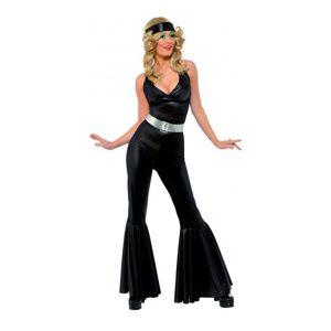 Déguisement disco tunique pantalon noir