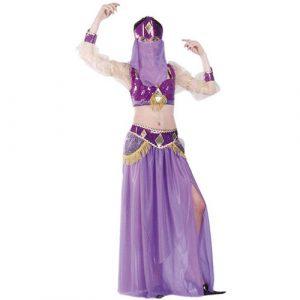 Déguisement Fatima violet