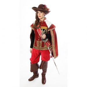 Déguisement fille de d'Artagnan