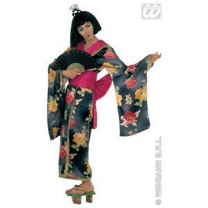 Déguisement geisha satin