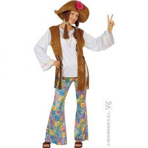 Déguisement hippie Woodstock dame