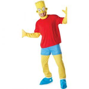 Déguisement licence Bart Simpson
