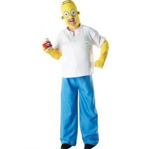 Déguisement licence Homer Simpson