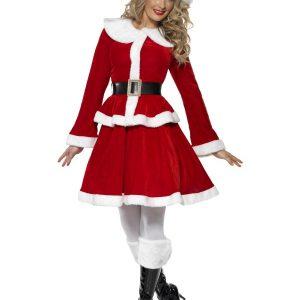 Déguisement Mère Noël robe rouge