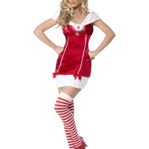 Déguisement Mère Noël sexy rouge