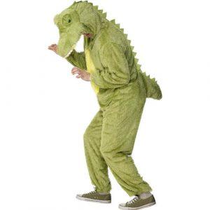 Déguisement peluche crocodile