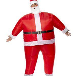 Déguisement Père Noël gonflable