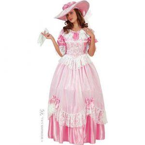 Déguisement princesse rose et blanc