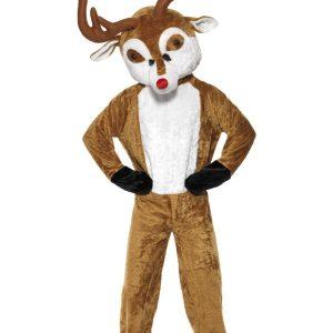 Déguisement entier renne de Noël homme