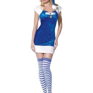 Déguisement robe sexy bleue