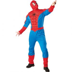 Déguisement spiderman muscle licence