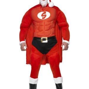 Déguisement super Père Noël