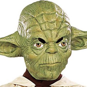 MASQUE STAR WARS LICENCE YODA