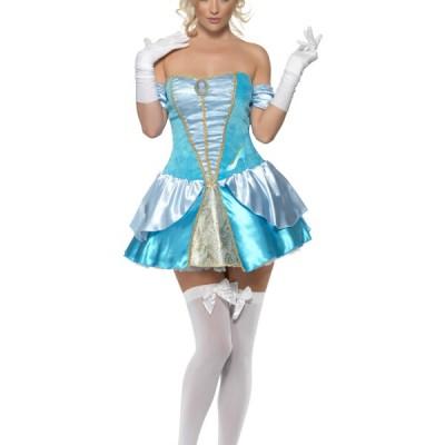 costume femme mini bleu