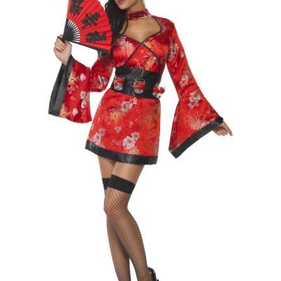 costume femme mini chinoise