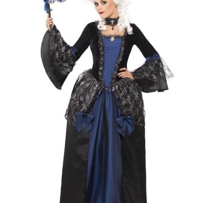 costume femme longue robe baroque