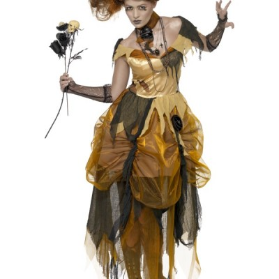 costume femme robe dechirée
