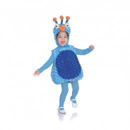 Costume Enfant : monstre bleu