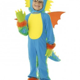 Costume Enfant : monstre multi couleurs