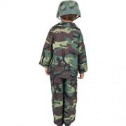 Costume enfant armée de terre dos