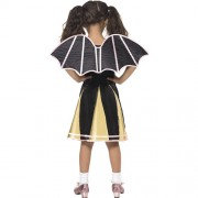 Costume Bat pompom girl enfant dos