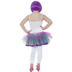 Costume enfant candy girl dos