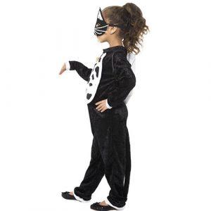Costume enfant chat noir farce ou friandise profil