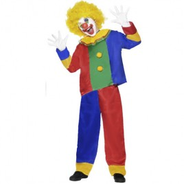 Costume enfant clown multicolore