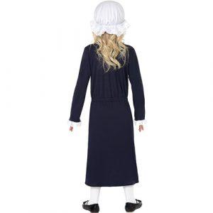 Costume enfant fille victorienne dos