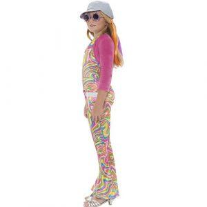 Costume enfant groovy glam fille profil