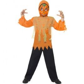 Costume enfant kit citrouille