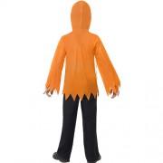 Costume enfant kit citrouille dos