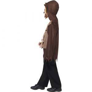 Costume enfant kit loup marron profil