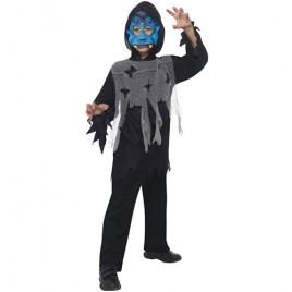 Costume enfant kit vampire bleu