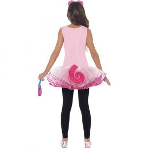Costume enfant monstre Moshi Poppet rose dos