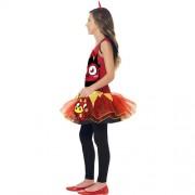 Costume enfant monstre Moshi Diavlo rouge profil