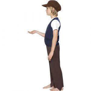 Costume enfant paysan victorien profil