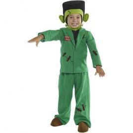 Costume enfant petit monstre vert