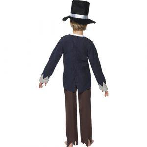 Costume enfant petit victorien dos