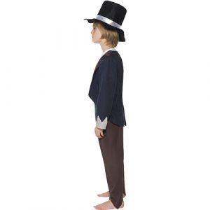 Costume enfant petit victorien profil