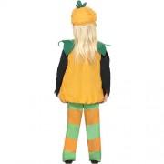 Costume enfant petite citrouille verte dos