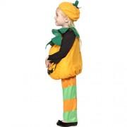 Costume enfant petite citrouille verte profil