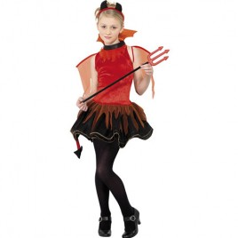 Costume adolescente petite diablesse rouge